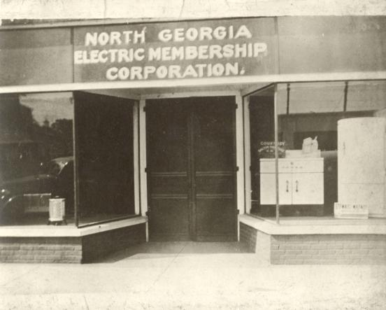NGEMC's first Dalton office on Hamilton St. (circa 1938)