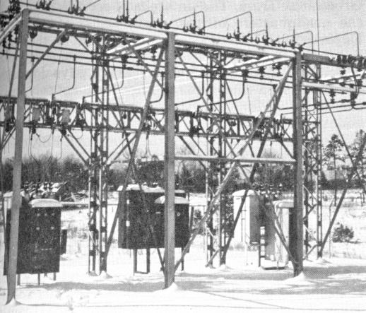 NGEMC's first substation, Friendship.